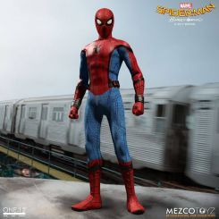 Spider-Man Homecoming figurine 1/12 Spider-Man Mezco Toys
