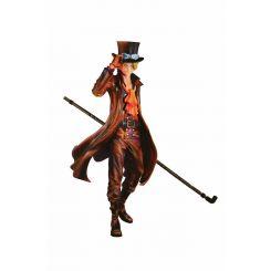 One Piece figurine SCultures Sabo Burning Color Ver. Banpresto