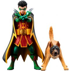 DC Comics pack 2 statuettes 1/10 ARTFX+ Robin & Ace the Bat-Hound Kotobukiya