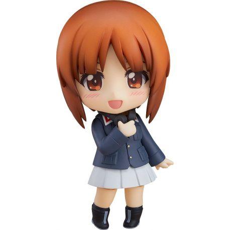 Girls und Panzer das Finale figurine Nendoroid Miho Nishizumi Jacket & Peacoat Ver. Good Smile Company