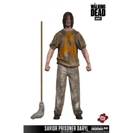 The Walking Dead TV Version figurine Savior Prisoner Daryl McFarlane Toys