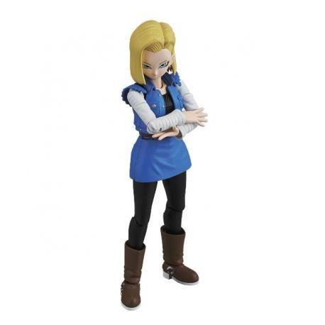Dragonball Z figurine Plastic Model Kit Figure-rise Standard Android C 18 Bandai