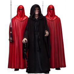 Star Wars pack 3 statuettes ARTFX 1/10 Emperor Palpatine & The Royal Guards Kotobukiya