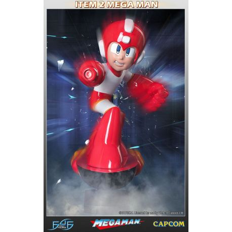 MegaMan statuette Item 2 First 4 Figures