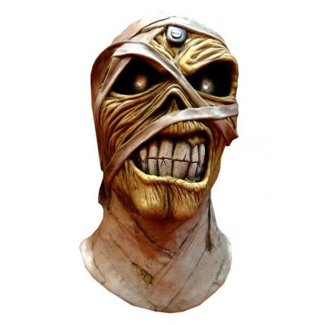 Iron Maiden masque latex Powerslave Mummy Trick Or Treat Studios