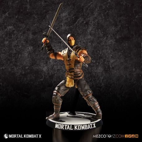 Mortal Kombat X figurine Scorpion Mezco Toys
