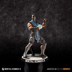 Mortal Kombat X figurine Sub Zero Mezco Toys