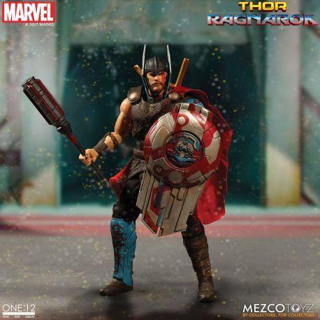 Thor Ragnarok figurine 1/12 Thor Mezco Toys
