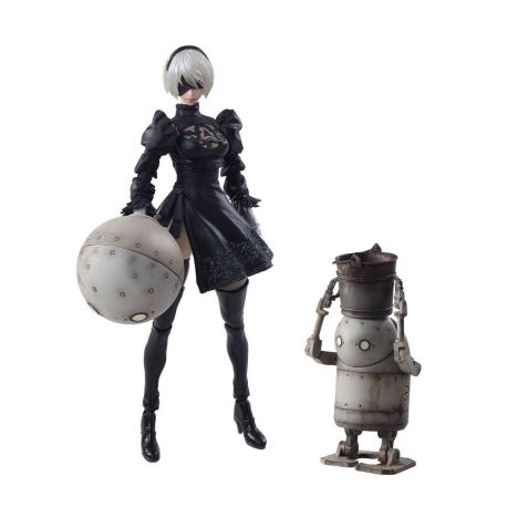 NieR Automata Bring Arts figurines 2B & Machine Lifeform Square-Enix