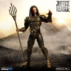 Justice League figurine 1/12 Aquaman Mezco Toys