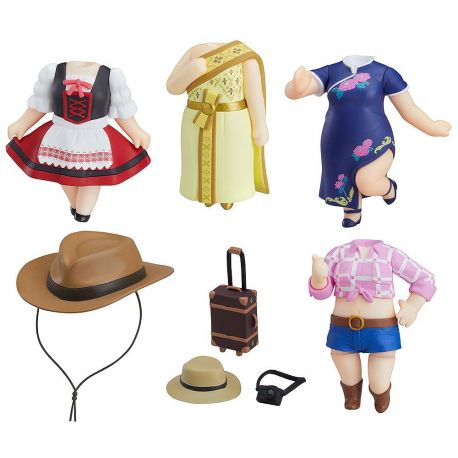 LoveLive!Sunshine!! Nendoroid More pack 5 accessoires World Image Girls Vol. 2 Good Smile Company