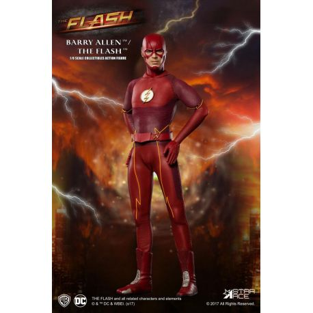 The Flash figurine Real Master Series 1/8 Flash Star Ace Toys