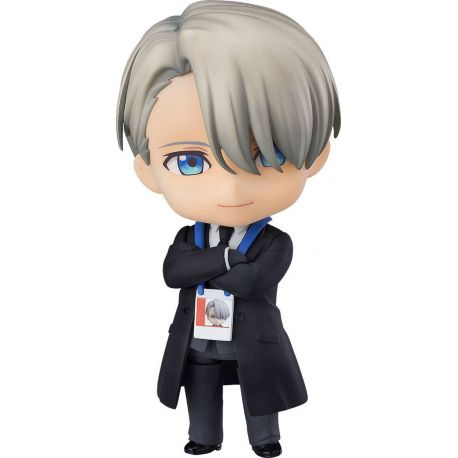 Yuri!!! on Ice figurine Nendoroid Viktor Nikiforov Coach Ver. Orange Rouge
