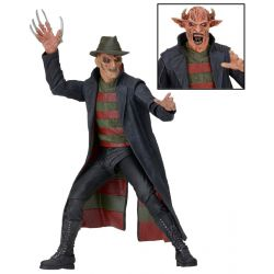 Nightmare Freddy sort de la nuit figurine Freddy Krueger NECA