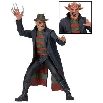 Nightmare Freddy sort de la nuit figurine Freddy Krueger NECA