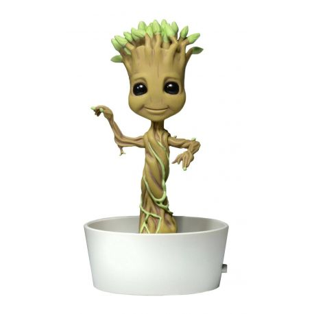 Les Gardiens de la Galaxie Body Knocker Bobble Figure Dancing Potted Groot Neca