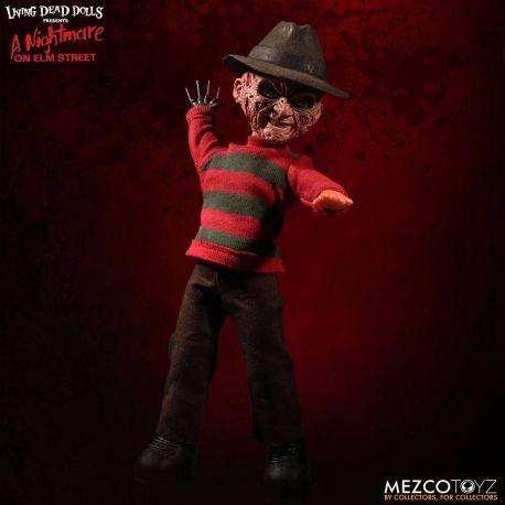 Freddy Les Griffes de la nuit poupée sonore Freddy Krueger Mezco Toys