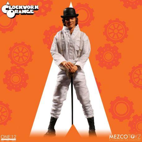 Orange mécanique figurine 1/12 Alex DeLarge Mezco Toys