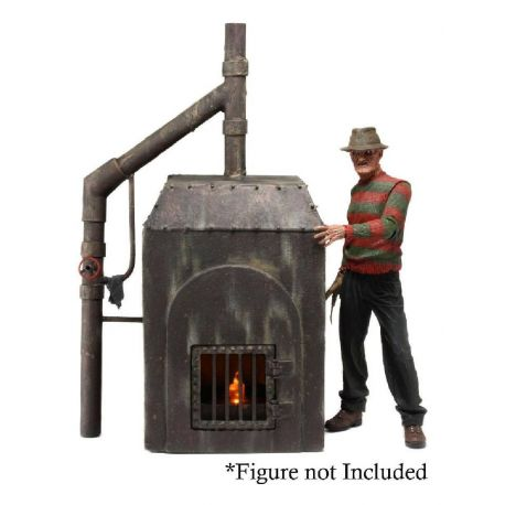Nightmare on Elm Street diorama Le Four de Freddy Neca