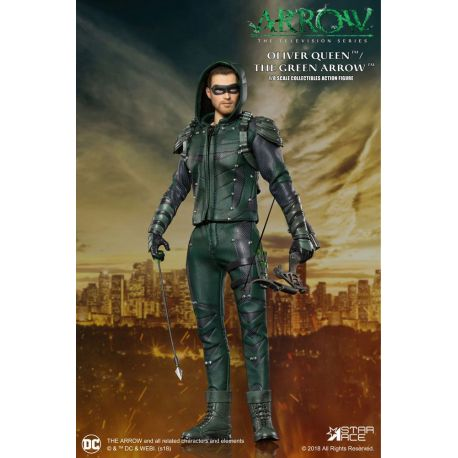 Arrow figurine Real Master Series 1/8 Green Arrow Star Ace Toys
