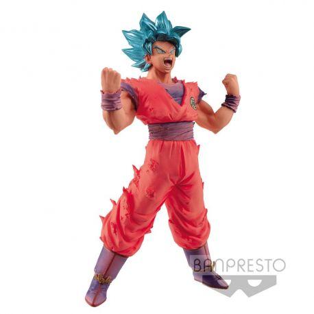 Dragonball Z Blood of Saiyans figurine Super Saiyan Blue Goku Banpresto