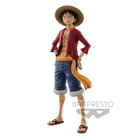One Piece figurine Grandista The Grandline Men Monkey D. Luffy Banpresto