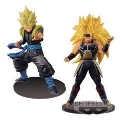 Super Dragonball Heroes assortiment figurines DXF Gogeta Xeno & Bardock Xeno Banpresto