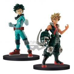 My Hero Academia assortiment figurines DXF Izuki Midoriya & Katsuki Bakugo Banpresto