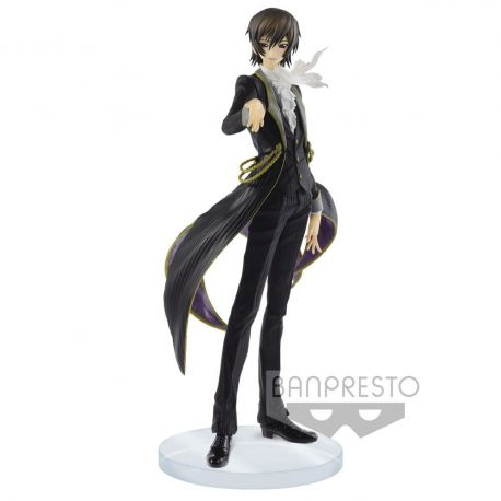 Code Geass Lelouch of the Rebellion figurine EXQ Lelouch Lamperouge Banpresto