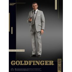 James Bond Goldfinger figurine 1/6 Collector Figure Series James Bond (Grey Suit) BIG Chief Studios