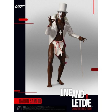 James Bond Vivre et laisser mourir figurine 1/6 Collector Figure Series Baron Samedi BIG Chief Studios
