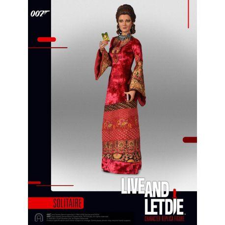 James Bond Vivre et laisser mourir figurine 1/6 Collector Figure Series Solitaire BIG Chief Studios