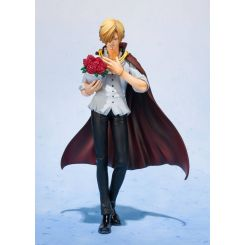 One Piece statuette FiguartsZERO Sanji Whole Cake Island Ver. Web Exclusive Bandai Tamashii Nations