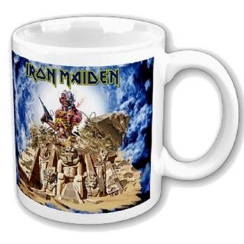 Iron Maiden mug Somewhere Back In Time