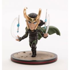 Thor Ragnarok diorama Q-Fig Loki Quantum Mechanix