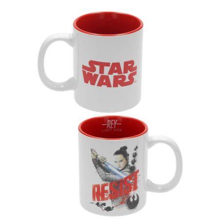 Star Wars Episode VIII mug Rey SD Toys
