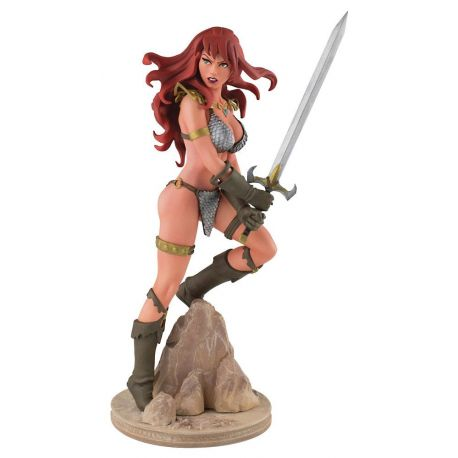 Red Sonja statuette Red Sonja by Amanda Conner Dynamite Entertainment