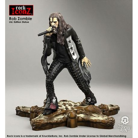 Rob Zombie statuette Rock Iconz Knucklebonz