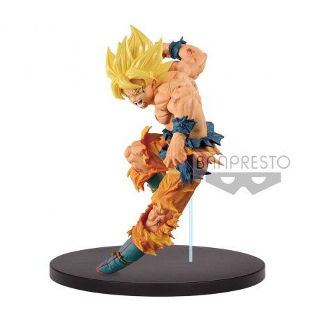 Dragonball Z figurine Match Makers Super Saiyan Son Goku Banpresto