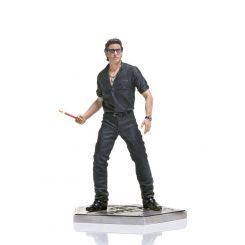 Jurassic Park statuette 1/10 Art Scale Ian Malcolm Iron Studios