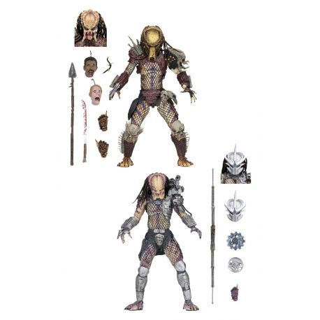 Predator Bad Blood pack 2 figurines Ultimate Bad Blood & Enforcer Neca
