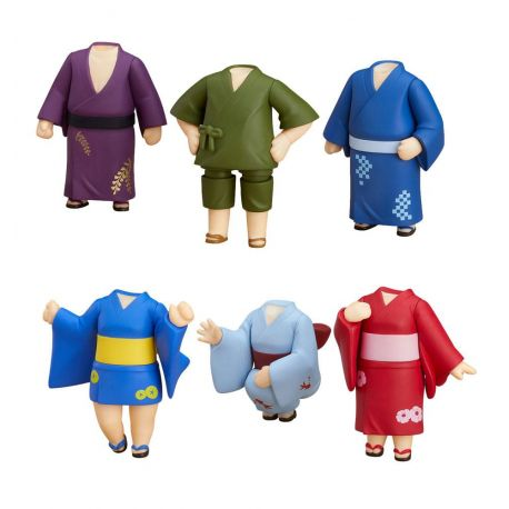 Nendoroid More pack 6 accessoires pour figurines Nendoroid Dress-Up Yukatas Good Smile Company