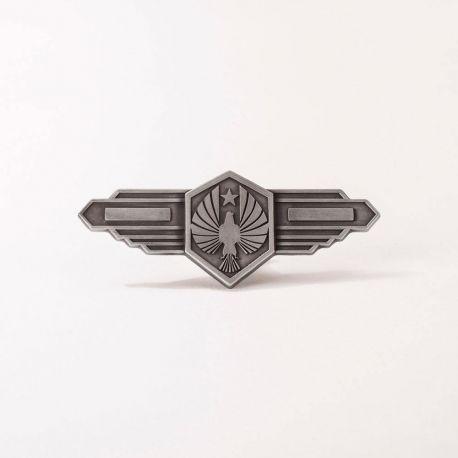 Pacific Rim Uprising réplique 1/1 badge Pan Pacific Defense Corps magnétique Quantum Mechanix