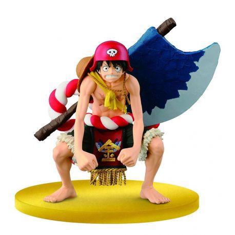 One Piece Film Gold figurine SCultures Big Zoukeio Special Luffy Banpresto