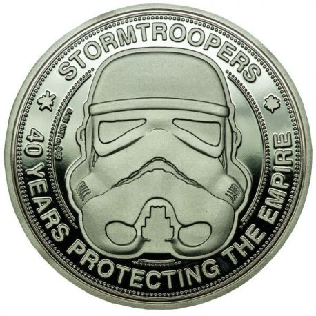Original Stormtrooper pièce de collection 40 Years Protecting The Empire Iron Gut Publishing
