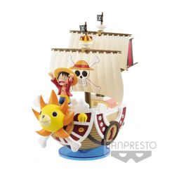 One Piece figurine Mega WCF Thousand Sunny Banpresto