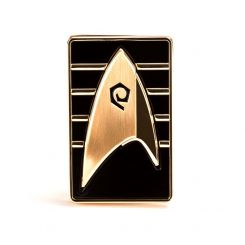 Star Trek Discovery réplique 1/1 Starfleet Cadet Badge magnétique Quantum Mechanix
