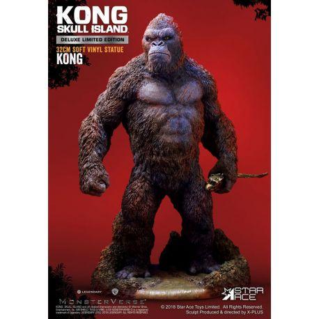 Kong Skull Island statuette Soft Vinyl Kong Deluxe Version Star Ace Toys