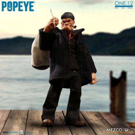 Popeye figurine 1/12 Popeye Mezco Toys