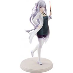 Re:ZERO -Starting Life in Another World- statuette 1/7 Emilia High School Teacher Ver. Kadokawa